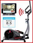 Sportstech CX610 Profi Crosstrainer mit Smartphone App Steuerung + Google Street View, Schwungmasse 18 KG, HRC - Bluetooth - 32 Widerstand Stufen - Heimtrainer Ergometer Ellipsentrainer Stepper-Hammer Preis,Aktion nur für kurze Zeit!! - 1